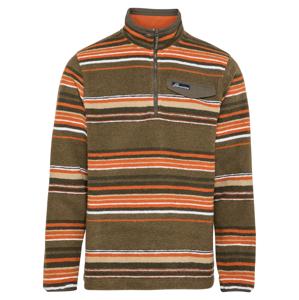 CRAGHOPPERS Sportovní svetr 'Lionel'  tmavě zelená / oranžová / bílá