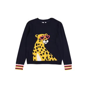 GAP Svetr 'Cheetah Po'  námořnická modř / mix barev