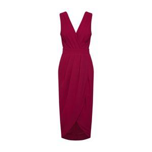 TFNC Koktejlové šaty 'NARVA'  burgundská červeň