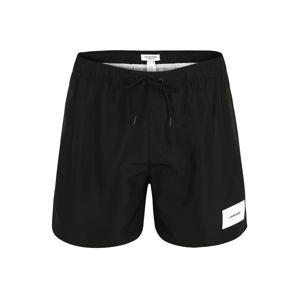 Calvin Klein Swimwear Plavecké šortky  černá