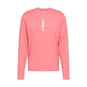 Tommy Jeans Tričko  pink / lososová