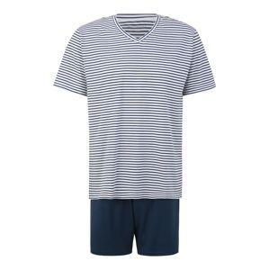 SCHIESSER Pyžamo krátké  tmavě modrá