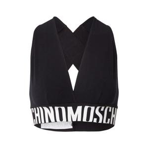 Moschino Underwear Podprsenka  černá / bílá