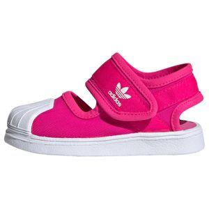 ADIDAS ORIGINALS Otevřená obuv 'SANDA'  pink / bílá