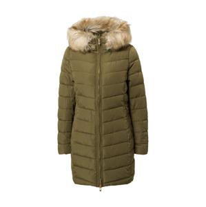 ONLY Zimní kabát  olivová / béžová