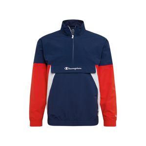 Champion Authentic Athletic Apparel Funkční bunda  červená / bílá / tmavě modrá