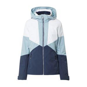 ZIENER Sportovní bunda 'TANSY'  námořnická modř / světlemodrá / bílá