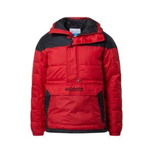 COLUMBIA Zimní bunda  červená / černá
