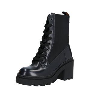 SCOTCH & SODA Šněrovací boty 'Calista'  černá