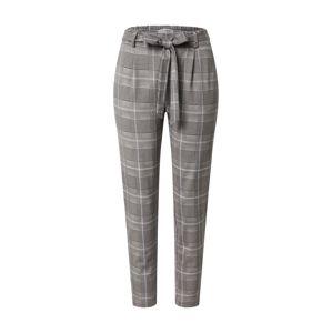 MOSS COPENHAGEN Kalhoty se sklady v pase 'Popye'  béžová / šedá / antracitová