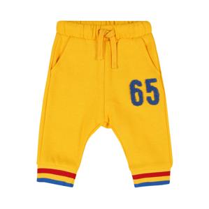 UNITED COLORS OF BENETTON Kalhoty  žlutá / modrá / červená