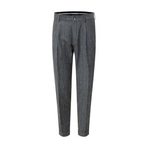 Calvin Klein Kalhoty se sklady v pase  šedá