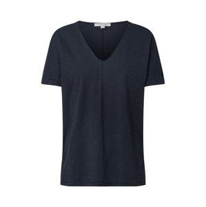 COMMA Tričko 'T-Shirt'  tmavě modrá / marine modrá
