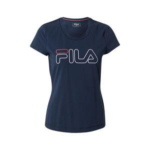 FILA Funkční tričko 'Reni'  modrá / bílá / červená
