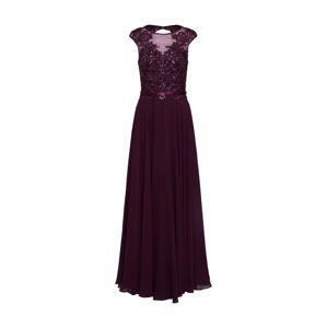 Unique Společenské šaty  tmavě fialová