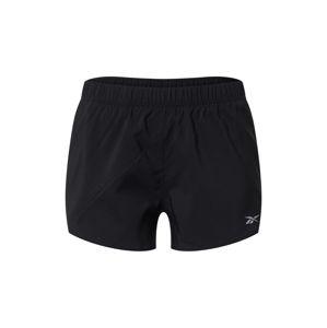 REEBOK Sportovní kalhoty  černá