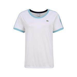 Lacoste Sport Funkční tričko 'Tee'  bílá / modrá