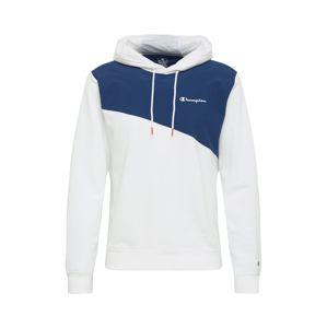 Champion Authentic Athletic Apparel Sportovní mikina  bílá / tmavě modrá