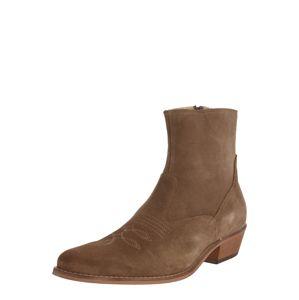 Shoe The Bear Kovbojské boty 'ENZO'  šedobéžová