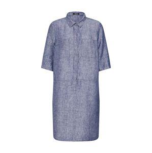 OPUS Košilové šaty 'Willmar linen'  modrá