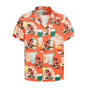 INDICODE JEANS Košile 'Gathorne'  mix barev / oranžová
