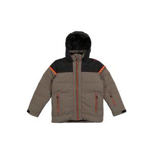 CMP Outdoorová bunda  oranžová / černá / khaki