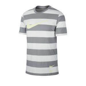 Nike Sportswear Tričko  bílá / šedá