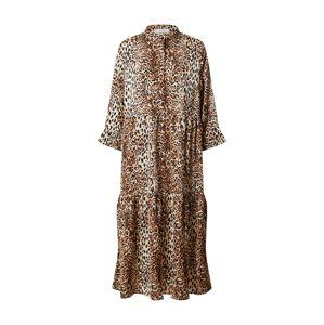Love & Divine Letní šaty 'Love434'  béžová / hnědá