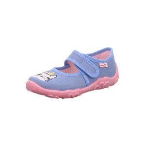 SUPERFIT Pantofle 'BONNY'  světlemodrá / pastelově růžová / bílá