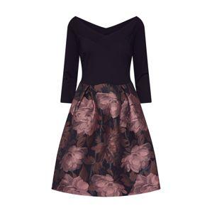 Anna Field Šaty  růžová / černá