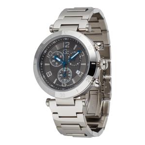Gc Analogové hodinky  stříbrná / černá