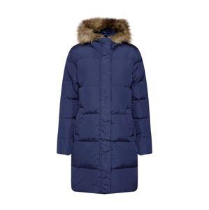 GAP Zimní kabát 'V-LONG DOWN PUFFER'  námořnická modř