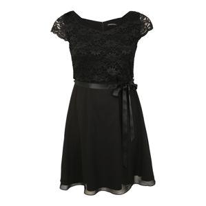 SWING Curve Koktejlové šaty  černá