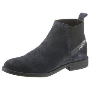 Tommy Jeans Chelsea boty  marine modrá / černá