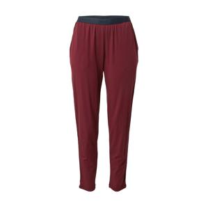 JOOP! Bodywear Pyžamové kalhoty  vínově červená / námořnická modř