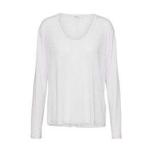 Filippa K Tričko 'Scoop Neck Long Sleeve Top'  bílá