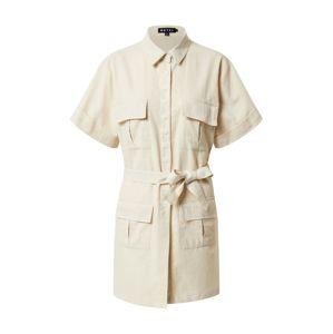 Motel Košilové šaty 'Denaya'  písková