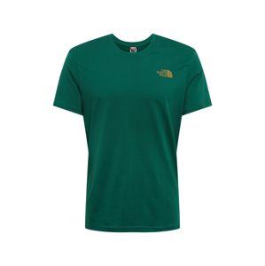 THE NORTH FACE Funkční tričko 'Simple Dome'  tmavě zelená