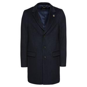 SCOTCH & SODA Přechodný kabát 'Classic 3-button coat in wool blend quality'  noční modrá