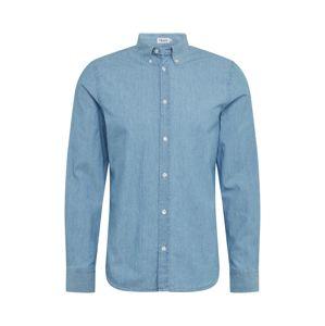 Filippa K Košile 'M. Lewis Chambray'  modrá džínovina