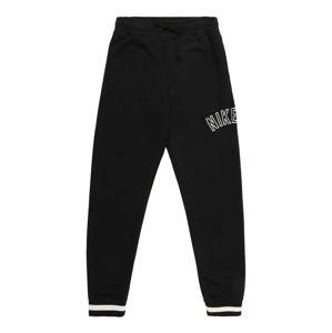 Nike Sportswear Kalhoty  bílá / černá