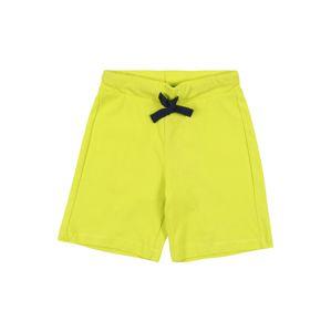 UNITED COLORS OF BENETTON Kalhoty  žlutá