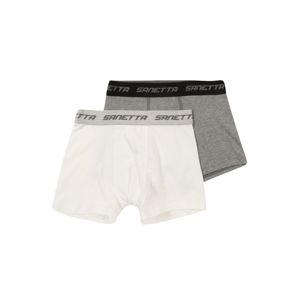 SANETTA Spodní prádlo  šedá / bílá