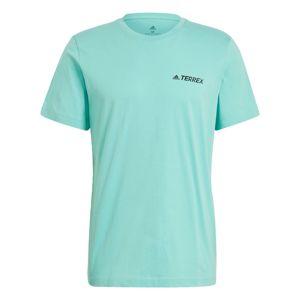 ADIDAS PERFORMANCE Funkční tričko  mátová / černá
