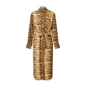 Rut & Circle Košilové šaty 'SOFI'  hnědá