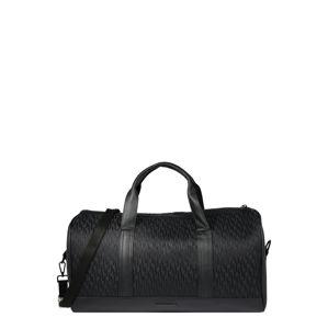 River Island Cestovní taška  černá