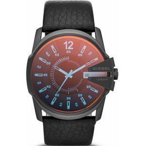 DIESEL Analogové hodinky 'MASTER CHIEF'  červená / černá