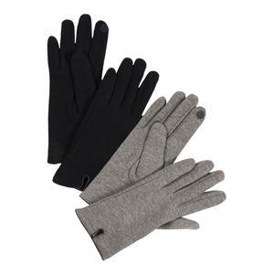 ONLY Prstové rukavice 'JESSICA'  šedá / noční modrá