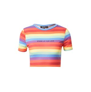 Missguided Tričko 'Pride Rainbow Stripe'  mix barev