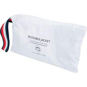 TOMMY HILFIGER Přechodná bunda  bílá / noční modrá / červená